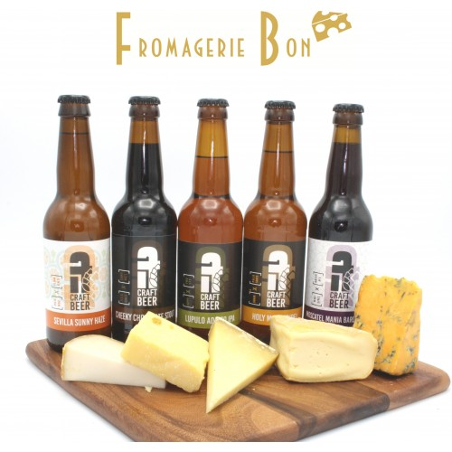Beer & Cheese pairing experience (10x33cl)