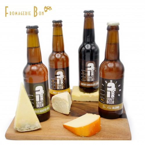 Beer & Cheese pairing experience
